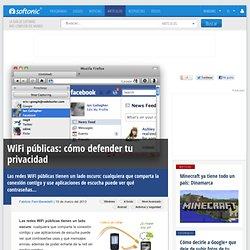 WiFi públicas: cómo defender tu privacidad