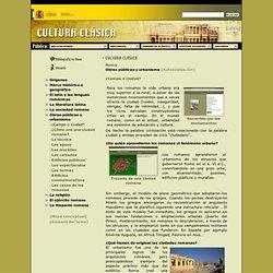 Obras públicas y urbanismo - Roma - Cultura Clásica 3º