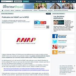 Publication de l'ANAP sur la GPEC