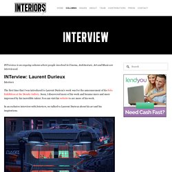 Interview — Interiors : An Online Publication about Architecture and Film