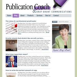 Publication Coach - Free Articles