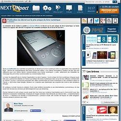 Publication du décret sur le prix unique du livre numérique - Actu PC INpact