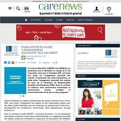 """Publication du guide """"L'engagement associatif des salariés"""" - Carenews"""