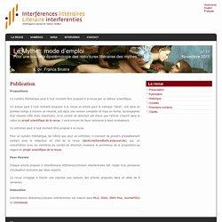 Interférences littéraires