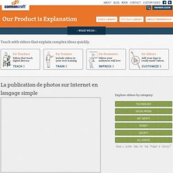 La publication de photos sur Internet en langage simple