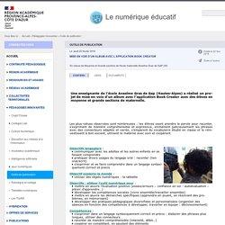 Outils de publication - Le numérique éducatif