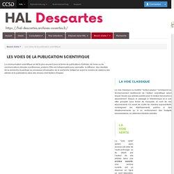 Université Paris Descartes - Les voies de la publication scientifique