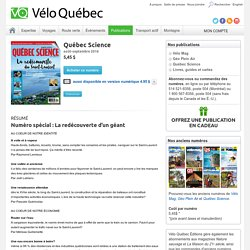 Publication / Québec Science