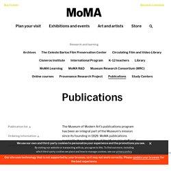 [US] MOMA, New York