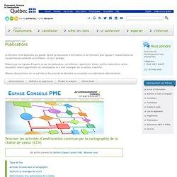 Publications administratives