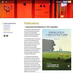 Exercice(s) d'architecture (ENSAB)