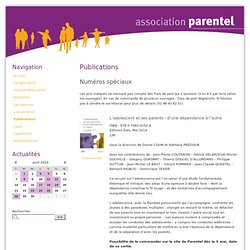 Publications - Association Parentel