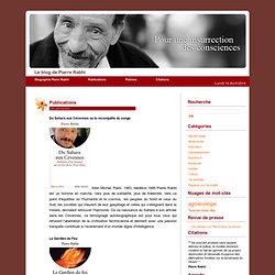 Le blog de Pierre Rabhi