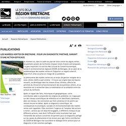 REGION BRETAGNE - MAI 2011 - Les marées vertes en Bretagne : pour un diagnostic partagé, garant d'une action efficace