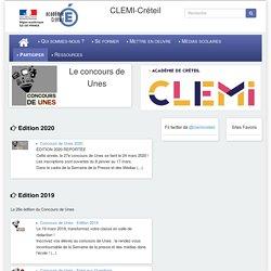 [Publications du Clemi] Le concours de Unes
