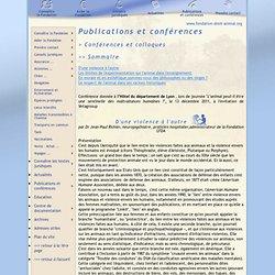 Conférence donnée à l'O.I.E, lors de la séance solennelle de l'Académie vétérinaire de France, le jeudi du 4 décembre 2008,Le re
