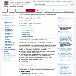 Publications et services - Action sociale départementale