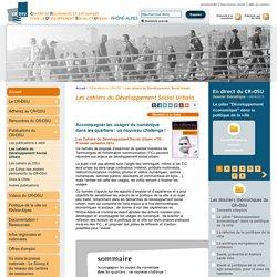 DSU > Les cahiers du Développement Social Urbain