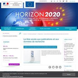 Le libre accès aux publications et aux données de recherche