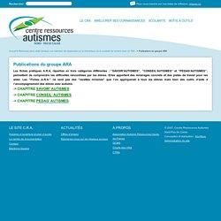 Publications du groupe ARA