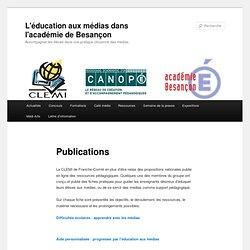 """Brochure """"Difficultés scolaires : apprendre avec les médias"""""""