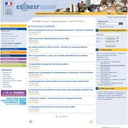 Publications ESENESR