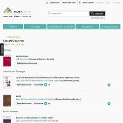 Publications de Fabien Granjon sur Cairn.info