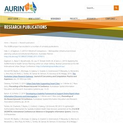 AURIN. Australian Urban Research Infrastructure Network