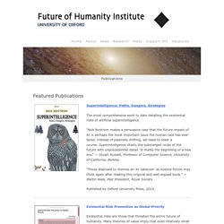 Future of Humanity Institute - Publications