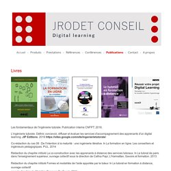 Publications - Jacques Rodet