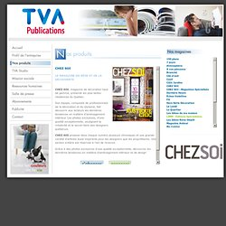 TVA Publications - magazines - Chez soi