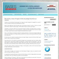 Article: Microstocks, bases d'images et sites de partage de photos sur Internet