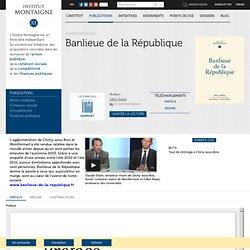 Banlieue de la République - Une enquête inédite sur les banlieues en France