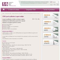 L'ISSN-L pour les publications à supports multiples