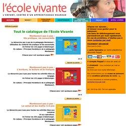 Les publications pour la pédagogie active