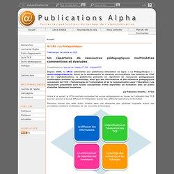 Publications Alpha - N°182: La Pédagothèque