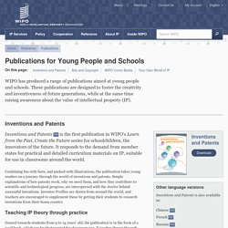 Publications for Young People and Schools