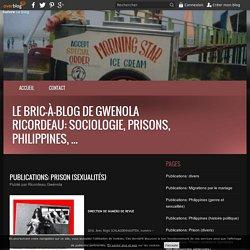 Publications: Prison (sexualités) - Le bric-à-blog de Gwenola Ricordeau: sociologie, prisons, Philippines, ...