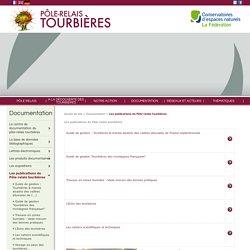 Les publications du Pôle-relais tourbières