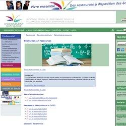 Publications et ressources