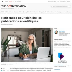 Petit guide pour bien lire les publications scientifiques