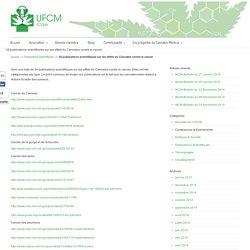 34 publications scientifiques sur les effets du Cannabis contre le cancer