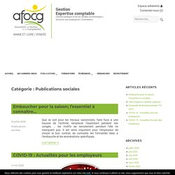 Publications sociales Archives - AFOCG