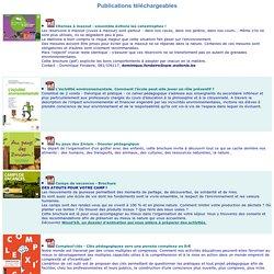Publications téléchargeables