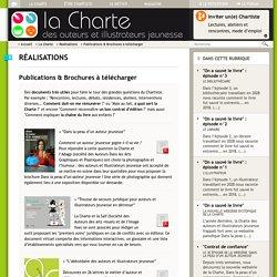 Charte : Publications & Brochures à télécharger