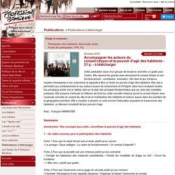 Publications > Publications 7 fiches our CC - profession banlieue