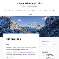 Publications – George Veletsianos, PhD