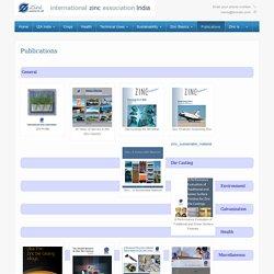 Publications - Zinc.org India