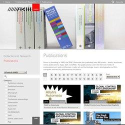 ZKM, par les brochures accéder, entre autres, à la visite d'expositions en vidéo.