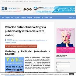 Relación entre el marketing y la publicidad (y diferencias entre ambos)